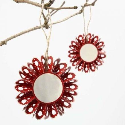 Vivi Gade Design paperista tehty rosetti