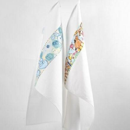 Näyttävät boordit pyyhkeisiin