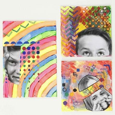 Elävää ja värikästä taidetta