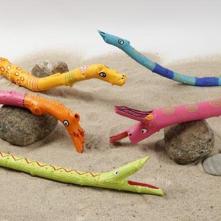 Plus Color-tusseilla koristellut keppieläimet