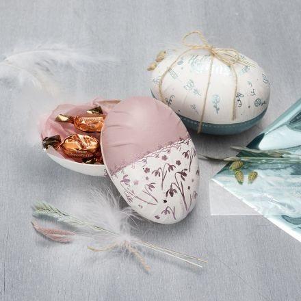 Koristeltu 2-osainen muna
