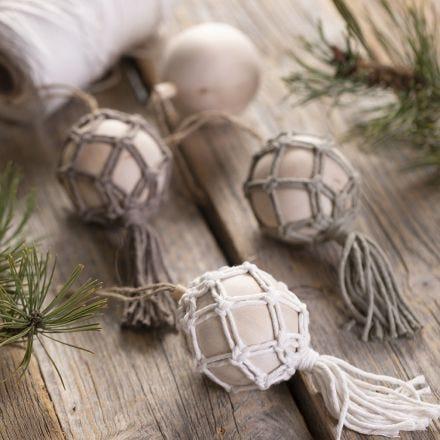 Makramee joulukoriste
