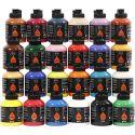 Pigment Art School, värilajitelma, 24x500 ml/ 1 pkk