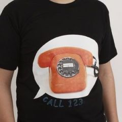 T-paitaan siirretty kuva