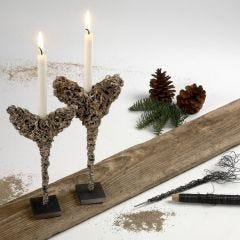 Omatekoisia joulukoristeita