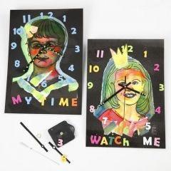 Laminoidut kellot