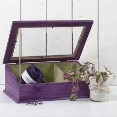 Maalattu mini-kasvihuone