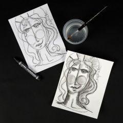 Lyra vesiliukoiset grafiittiliidut