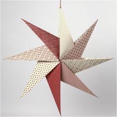 Origamitähti käsintehdystä paperista