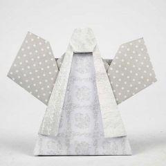 Vivi Gade Design paperista taiteltu enkeli