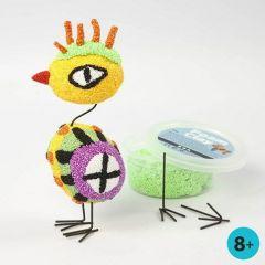 Värikäs helmimassa lintu