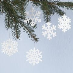 Lumihiutaleita Nabbi- putkihelmistä