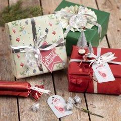 Jouluiset lahjapaketit