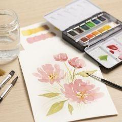 Vesivärimaalausta aloittelijoille: Opi kuinka vesiväreillä maalataan