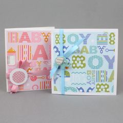 Vauvakortit lahjapapereista