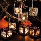 Pelottavat Halloween-kynttilät