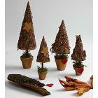 Rustiikkiset joulupuut