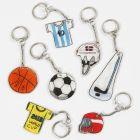 Urheiluaiheiset avaimenperät kutistemuovista
