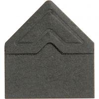 Valokuvakulmat 3L, Lev: 10 mm, 110 g, musta, 108 kpl/ 1 pkk