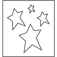 Paksu kuvioterä, Tähti, koko 14x15,25 cm, paksuus 15 mm, 1 kpl