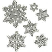 Kuvioterä, lumihiutale, halk. 2-6 cm, 1 kpl