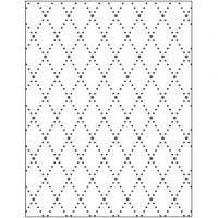 Kohokuviointikansio, vinoneliöt, koko 11x14 cm, paksuus 2 mm, 1 kpl
