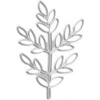 Kuvioterä, oksa, koko 4,4x6,5 cm, 1 kpl
