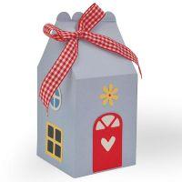 Sizzix Thinlits -kuvioterä, talo, koko 1,27x0,95 - 13,02x14,60 cm, 1 kpl