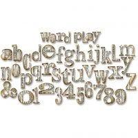 Sizzix Bigz -kuvioterä, sanaleikki, koko 15,2x37,8x1,9 cm, 1 kpl