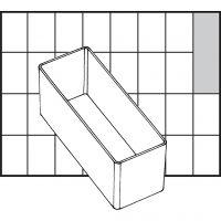 Säilytyslokero, nro A9-2, Kork. 47 mm, koko 109x39 mm, 1 kpl