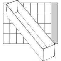 Säilytyslokero, nro A9-4, Kork. 47 mm, koko 218x39 mm, 1 kpl