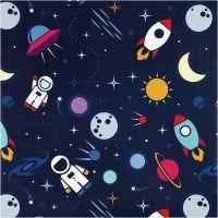 Lahjapaperi, Astronautit avaruudessa, Lev: 57 cm, 80 g, 150 m/ 1 rll