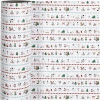 Lahjapaperi, arktista hauskaa, Lev: 57 cm, 80 g, 150 m/ 1 rll