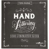 Hand Lettering -kirjoitusopas, koko 22x23 cm, paksuus 2 cm, 143 , 1 kpl