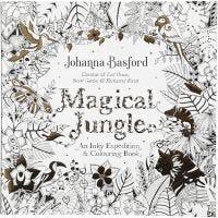 Aikuisten värityskirja, Magical Jungle , koko 25x25 cm, 80 , 1 kpl