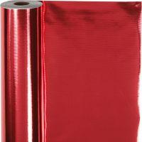 Lahjapaperi, Lev: 50 cm, 65 g, punainen, 100 m/ 1 rll