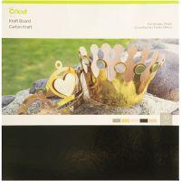 Cricut-voimakartonki (metallikalvot), koko 30x30 cm, 30 kpl/ 1 pkk