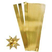 Paperisuikaleet, Pit. 45 cm, Lev: 10 mm, halk. 4,5 cm, kulta, 100 suikaleet/ 1 pkk
