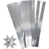 Paperisuikaleet, Pit. 45 cm, Lev: 10 mm, halk. 4,5 cm, hopea, 100 suikaleet/ 1 pkk