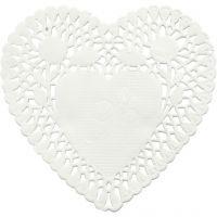 Kakkupaperi, sydän, halk. 10 cm, 30 kpl/ 1 pkk