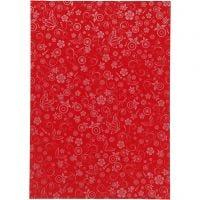 Paperi, A4, 210x297 mm, 80 g, punainen, 20 ark/ 1 pkk