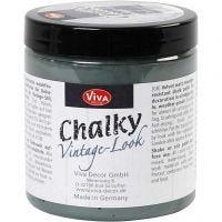 Chalky Vintage Look -maali, dark green (702), 250 ml/ 1 tb