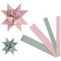 Paperisuikaleet, Lev: 15+25 mm, halk. 6,5+11,5 cm, 60 suikaleet/ 1 pkk