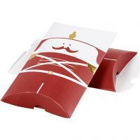 Lahjarasiat, Pahkinänsärkijä, koko 14,9x9,4x2,5 cm, 300 g, kulta, punainen, valkoinen, 3 kpl/ 1 pkk