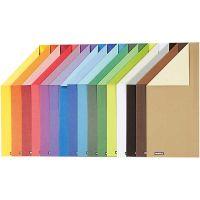 Color Bar-kartonki, A4, 210x297 mm, 250 g, 16 laj/ 1 pkk