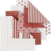Origamipaperi, koko 10x10 cm, 80 g, 50 laj/ 1 pkk