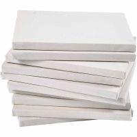 Taulupohjat, syvyys 1,6 cm, A4, koko 21x29,7 cm, 280 g, valkoinen, 40 kpl/ 1 pkk