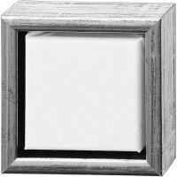 ArtistLine taulupohjat, syvyys 3 cm, koko 14x14 cm, 360 g, valkoinen, 6 kpl/ 1 pkk