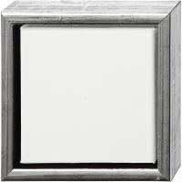 ArtistLine taulupohjat, syvyys 3 cm, koko 19x19 cm, antiikkihopean väris, valkoinen, 1 kpl