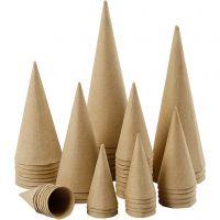 Pahvikartiot, Kork. 8-20 cm, halk. 4-8 cm, 50 kpl/ 1 pkk